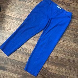 Gap bright blue slacks